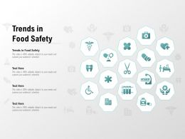 Trends In Food Safety Ppt Powerpoint Presentation File Deck