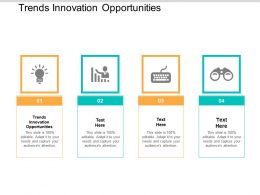 Trends Innovation Opportunities Ppt Powerpoint Presentation Gallery Slides Cpb