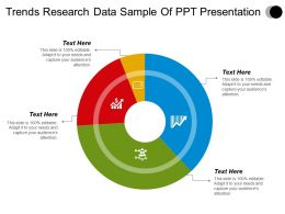 Trends Research Data Sample Of Ppt Presentation