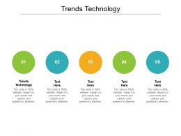 Trends Technology Ppt Powerpoint Presentation Visual Aids Inspiration Cpb