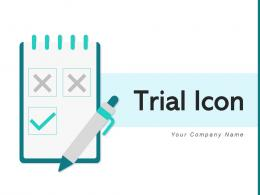 Trial Icon Application Product Performing Service Vaccination