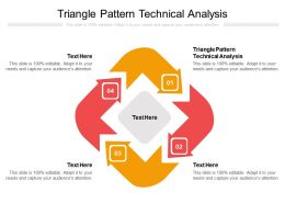 Triangle Pattern Technical Analysis Ppt Powerpoint Presentation Icon Cpb