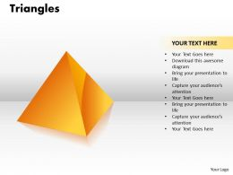 Triangles diagram ppt 12