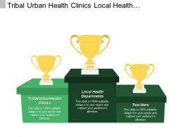 Tribal Urban Health Clinics Local Health Departments Social Networks