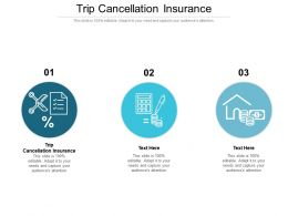 Trip Cancellation Insurance Ppt Powerpoint Presentation File Slide Portrait Cpb