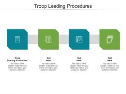 Troop Leading Procedures Ppt Powerpoint Presentation Infographic Template Examples Cpb