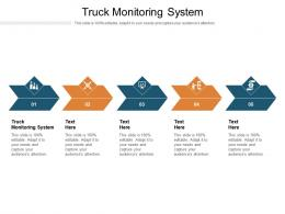 Truck Monitoring System Ppt Powerpoint Presentation Summary Model Cpb