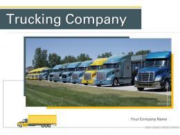 Trucking Company Powerpoint Presentation Slides