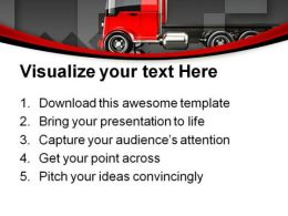 Trucking Travel PowerPoint Templates And PowerPoint Backgrounds 0811  Presentation Themes and Graphics Slide03
