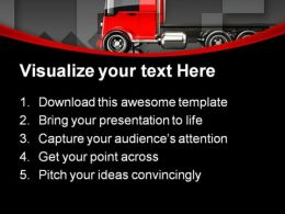Trucking Travel PowerPoint Templates And PowerPoint Backgrounds 0811  Presentation Themes and Graphics Slide02