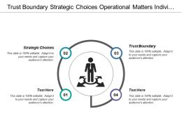 Trust Boundary Strategic Choices Operational Matters Individual Experts