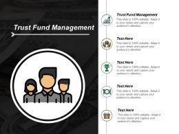 Trust Fund Management Ppt Slides Ideas Cpb