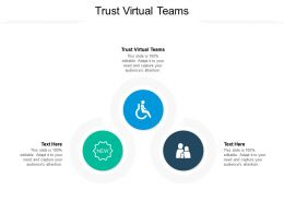 Trust Virtual Teams Ppt Powerpoint Presentation Show Maker Cpb