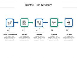 Trustee Fund Structure Ppt Powerpoint Presentation Show Ideas Cpb