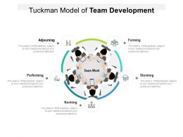 Tuckman Model Of Team Development