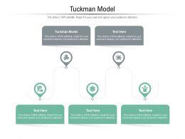 Tuckman Model Ppt Powerpoint Presentation Slides Diagrams Cpb