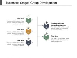 Tuckmans Stages Group Development Ppt Powerpoint Presentation Infographic Template Display Cpb