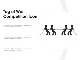 Tug Of War Competition Icon