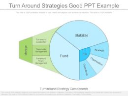 Turn Around Strategies Good Ppt Example