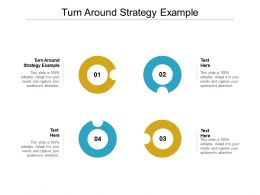 Turn Around Strategy Example Ppt Powerpoint Presentation Model Skills Cpb
