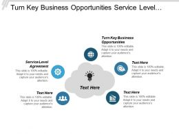 Turn Key Business Opportunities Service Level Agreement Conflict Management Cpb
