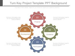 Turn Key Project Template Ppt Background