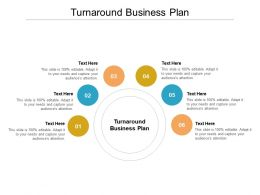 Turnaround Business Plan Ppt Powerpoint Presentation Outline Ideas Cpb