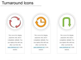 Turnaround Icons