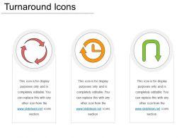 Turnaround Icons