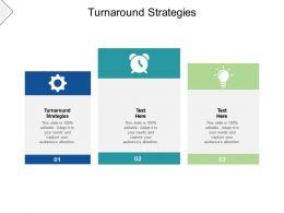 Turnaround Strategies Ppt Powerpoint Presentation Gallery Portfolio Cpb