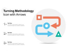 Turning Methodology Icon With Arrows