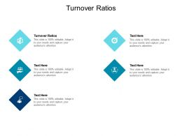 Turnover Ratios Ppt Powerpoint Presentation Infographic Template Layout Ideas Cpb