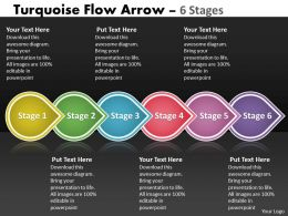 Turquoise Flow Arrow 6 Stages 85