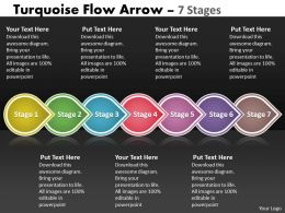 Turquoise Flow Arrow 7 Stages 65