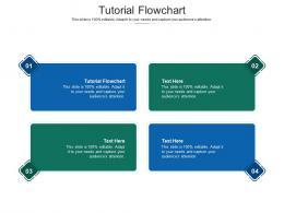 Tutorial Flowchart Ppt Powerpoint Presentation Infographics Example Topics Cpb