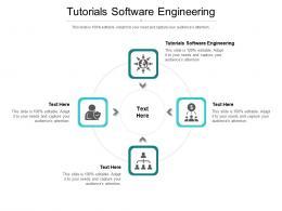 Tutorials Software Engineering Ppt Powerpoint Presentation Slides Display Cpb