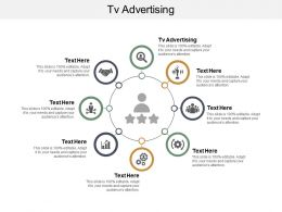 Tv Advertising Ppt Powerpoint Presentation File Elements Cpb