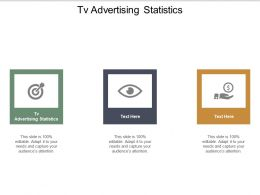 Tv Advertising Statistics Ppt Powerpoint Presentation Inspiration Infographic Template Cpb