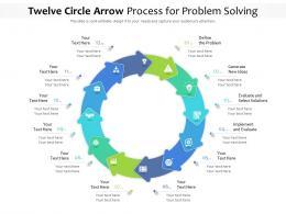 Twelve Circle Arrow Process For Problem Solving