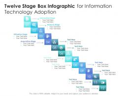 Twelve Stage Box Infographic For Information Technology Adoption