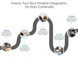 Twenty Four Hour Timeline For Data Cardinality Infographic Template