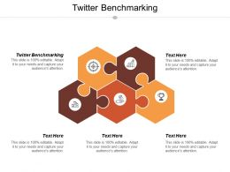 Twitter Benchmarking Ppt Powerpoint Presentation Icon Background Image Cpb