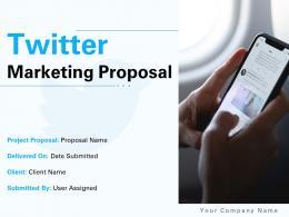 Twitter Marketing Proposal Powerpoint Presentation Slides