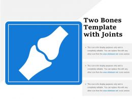 Two Bones Template With Joints