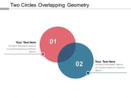 Two Circles Overlapping Geometry