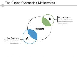Two Circles Overlapping Mathematics