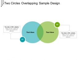 Two Circles Overlapping Sample Design