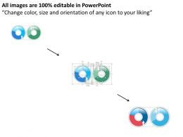 two_circular_pie_diagrams_powerpoint_template_Slide02