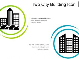 Two City Building Icon