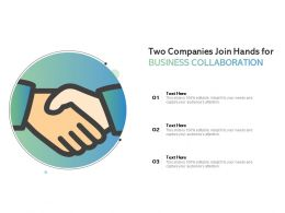 Two Companies Join Hands For Business Collaboration